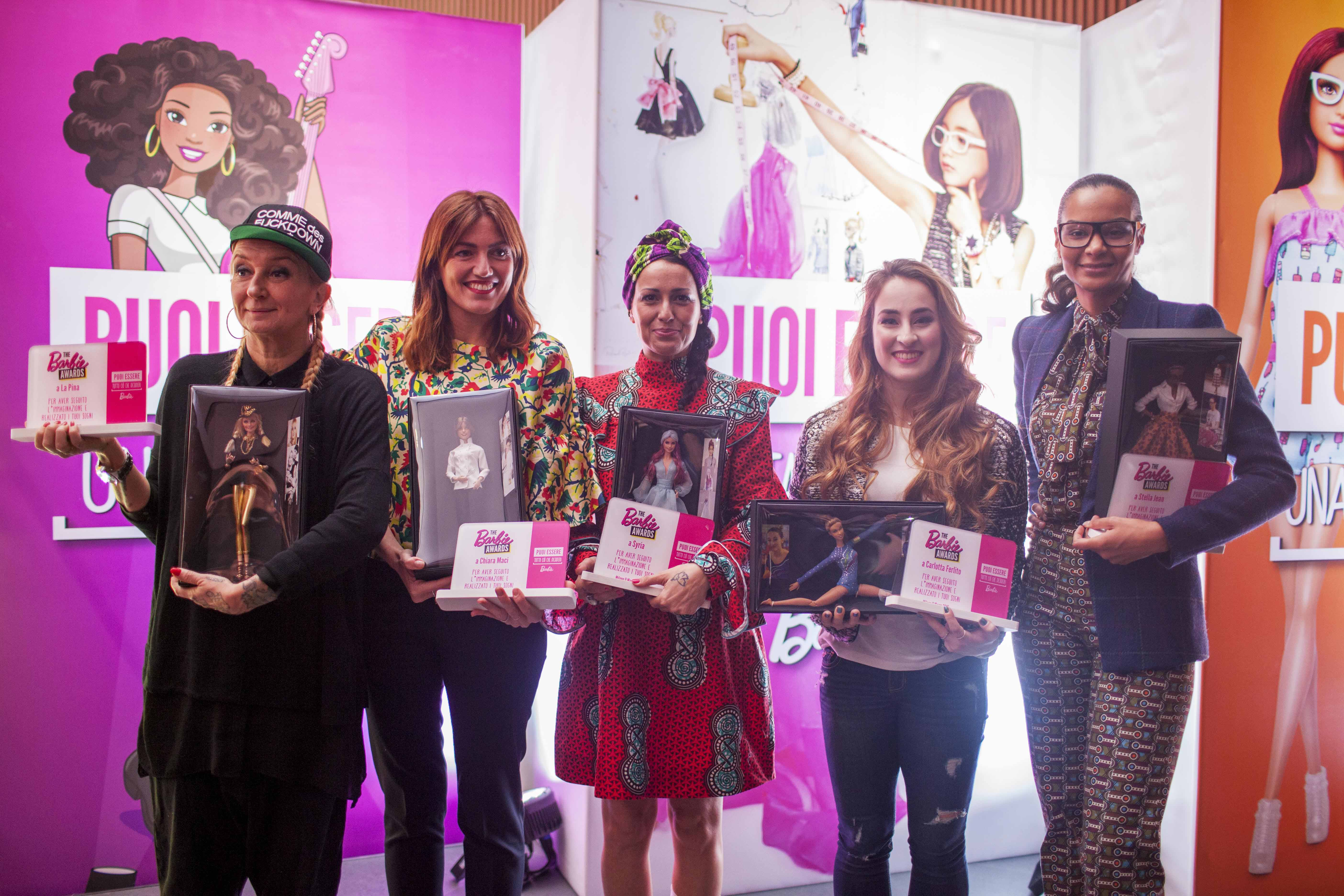 Barbie Awards -vincitrici 2016